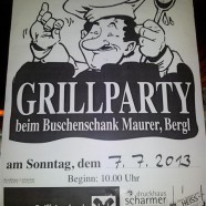 Sparverein – Grillparty